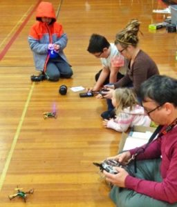 Indoor RC Flying @ May Street Elementary
